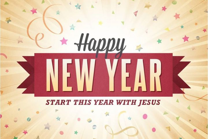 Happy New Year - Start the New Year with Jesus